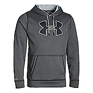 Mens Under Armour Storm Armour Fleece Big Logo Hoodie & Sweatshirts Technical Tops