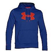 Mens Under Armour Storm Armour Fleece Big Logo Hoodie & Sweatshirts Technical Tops