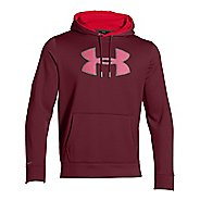 Mens Under Armour Storm Armour Fleece Big Logo Hoody Outerwear Jackets
