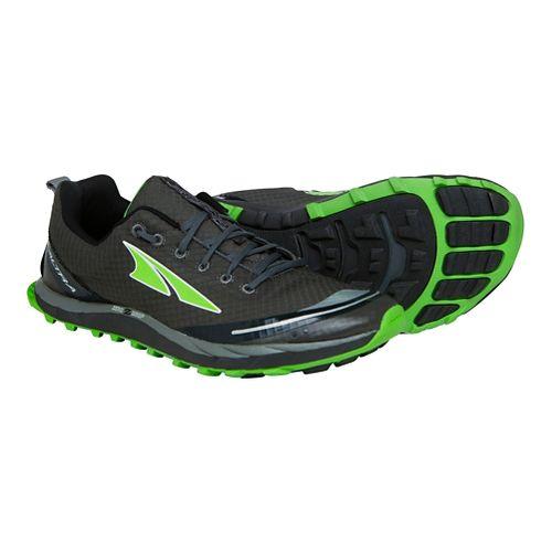 Mens Altra Superior 2.0 Trail Running Shoe - Grey/Green 9