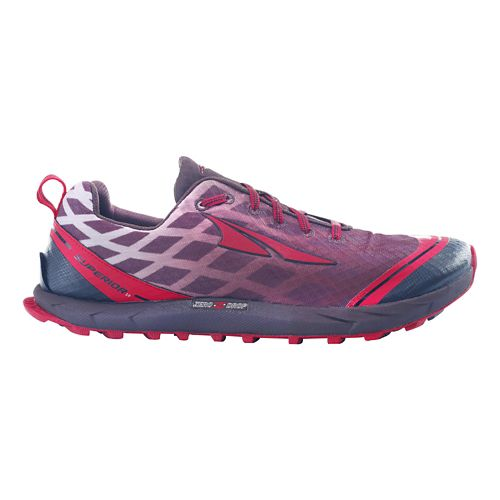 Mens Altra Superior 2.0 Trail Running Shoe - Racing Red/Chocolate 9