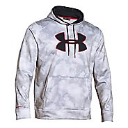 Mens Under Armour Storm Armour Fleece Big Logo Printed Hoody Outerwear Jackets