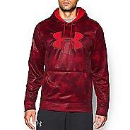 Mens Under Armour Storm Armour Fleece Big Logo Printed Hoody Outerwear Jackets