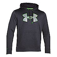 Mens Under Armour Storm Armour Fleece Big Logo Twist Hoodie & Sweatshirts Technical Tops