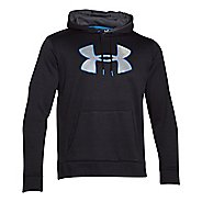 Mens Under Armour Storm Armour Fleece Big Logo Twist Hoody Outerwear Jackets