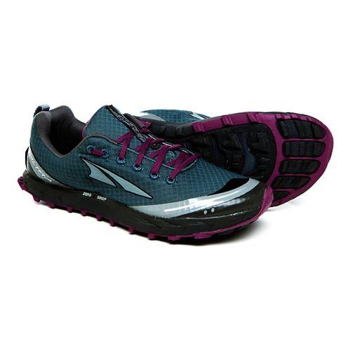 Womens Altra Superior 2.0 Trail Running Shoe - Deep Lake/Berry 5.5