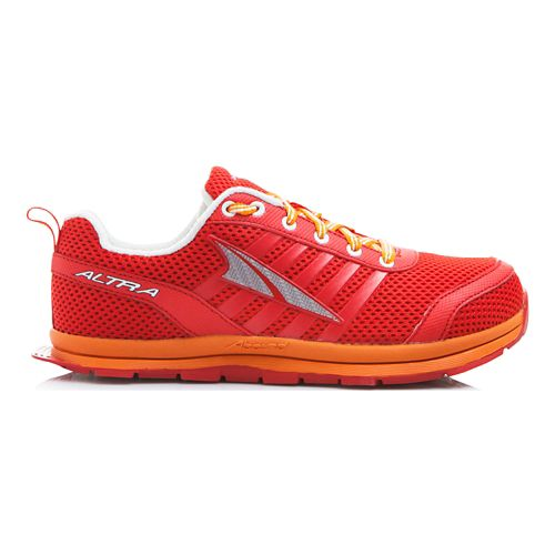 Kids Altra Instinct Jr 1.5 Running Shoe - Red/Orange 5.5