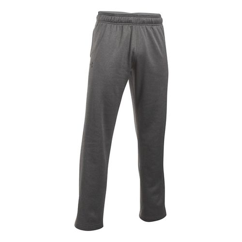 Mens Under Armour Lightweight Armour Fleece Pants - Carbon Heather XLR