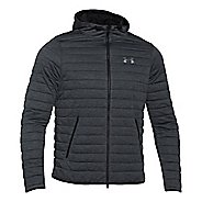 Mens Under Armour Quilted Full-Zip Hoody Outerwear Jackets