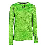 Kids Under Armour ColdGear Armour Twist Crew Long Sleeve No Zip Technical Tops