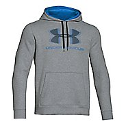 Mens Under Armour Rival Cotton Sportstyle Hoody Outerwear Jackets