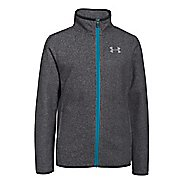 Kids Under Armour The ColdGear Infrared Survival Fleece Warm Up Hooded Jackets