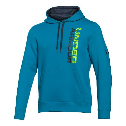 Men's Under Armour�Rival Cotton Vertical Graphic Hoody
