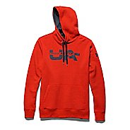 Mens Under Armour Rival Cotton Novelty Graphic Hoody Outerwear Jackets
