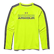 Kids Under Armour ColdGear Infrared T Long Sleeve No Zip Technical Tops