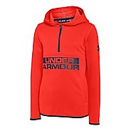 Kids Under Armour ColdGear Infrared Fleece Long Sleeve Hooded Technical Tops