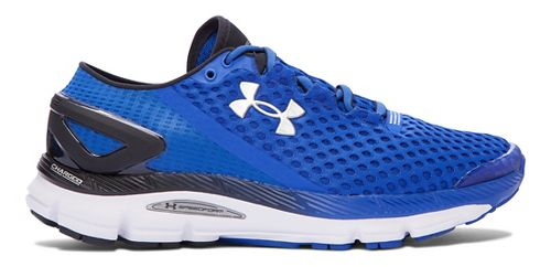 Mens Under Armour Speedform Gemini 2 Running Shoe - Royal/Black 9.5