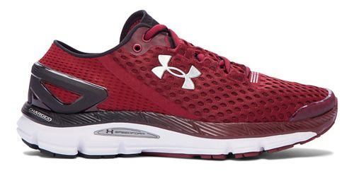 Mens Under Armour Speedform Gemini 2 Running Shoe - Cardinal/Black 12.5