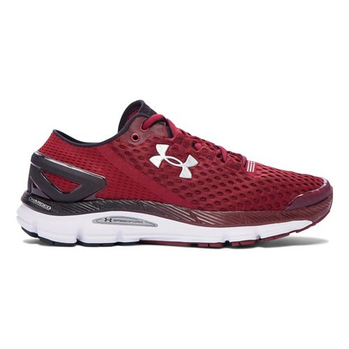 Mens Under Armour Speedform Gemini 2 Running Shoe - Cardinal/Black 15