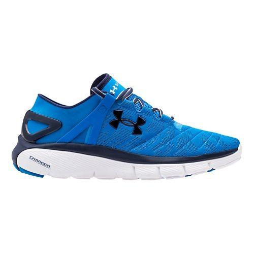 Mens Under Armour Speedform Fortis Vent Running Shoe - Blue/White 8
