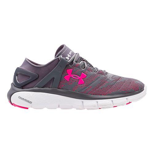 Womens Under Armour Speedform Fortis Vent Running Shoe - Grey/Pink 8.5