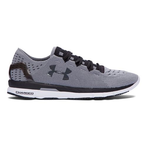 Mens Under Armour Speedform Slingshot Running Shoe - Grey/White 12