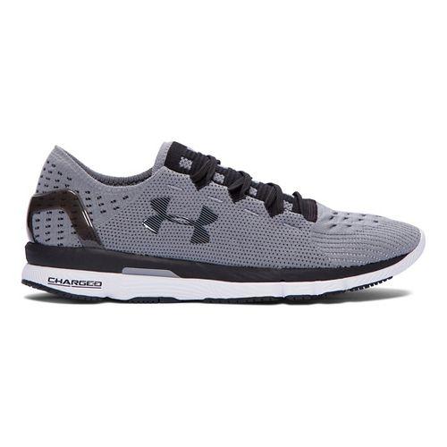 Mens Under Armour Speedform Slingshot Running Shoe - Grey/White 7