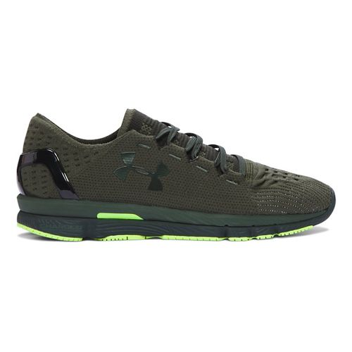 Mens Under Armour Speedform Slingshot Running Shoe - Downtown Green/Loche 7