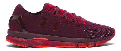 Mens Under Armour Speedform Slingshot Running Shoe - Systematic/Cardinal 11