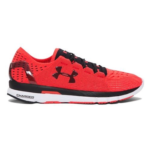 Mens Under Armour Speedform Slingshot Running Shoe - Red/Black 10