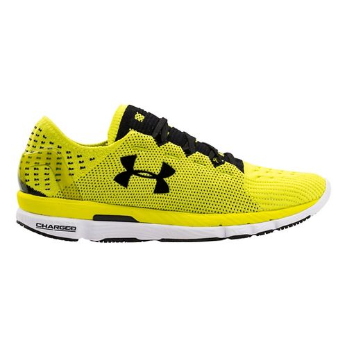 Mens Under Armour Speedform Slingshot Running Shoe - Systematic/Cardinal 10.5