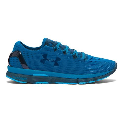 Mens Under Armour Speedform Slingshot Running Shoe - Peacock/Nova Teal 15