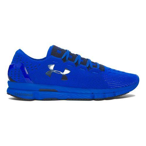 Mens Under Armour Speedform Slingshot Running Shoe - Blue/Blue 14