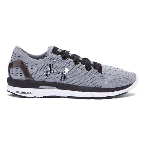 Womens Under Armour Speedform Slingshot Running Shoe - Steel 8