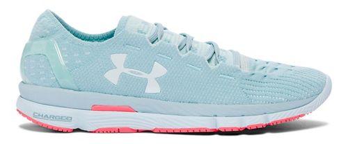 Womens Under Armour Speedform Slingshot Running Shoe - Seaport/Aqua 9.5