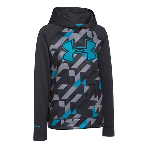 Kids Under Armour�Storm Fleece Printed Big Logo Hoody