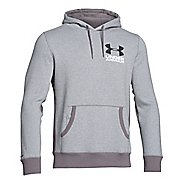 Mens Under Armour Beast Fleece Graphic Pull Over Hoody Outerwear Jackets