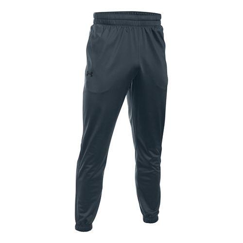 Mens Under Armour Lightweight Warm-Up Tapered Leg Pants - Stealth Grey/Black XXL