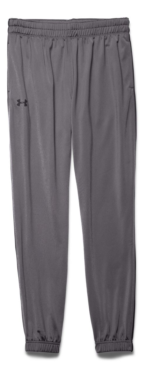 Mens Under Armour Lightweight Warm-Up Tapered Leg Pants - Graphite/Black XL