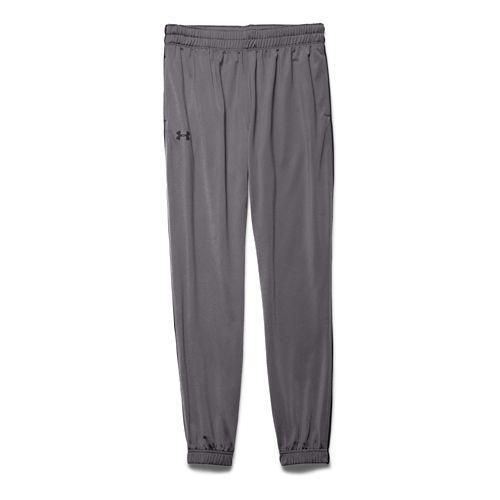 Mens Under Armour Lightweight Warm-Up Tapered Leg Pants - Graphite/Black MR