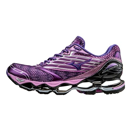 Womens Mizuno Wave Prophecy 5 Running Shoe - Violet 7.5
