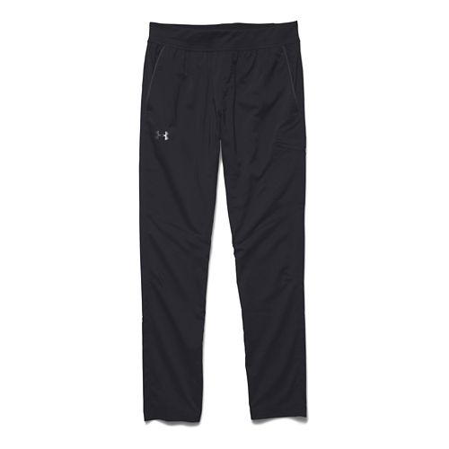 Mens Under Armour Circuit Woven Tapered Full Length Pants - Black XL-T