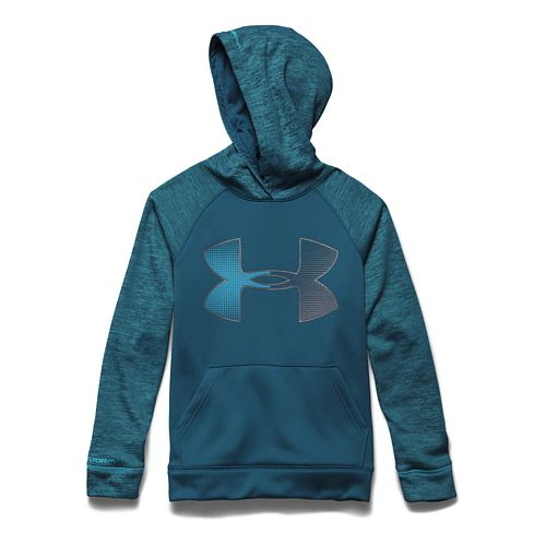 Kids Under Armour�Storm Fleece Jumbo Big Logo Hoody
