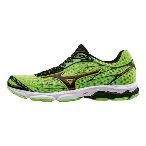 Mens Mizuno Wave Catalyst Running Shoe - Chinese Red/Black 12