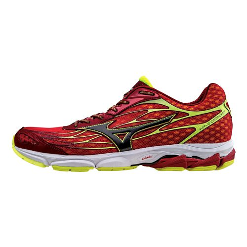 Mens Mizuno Wave Catalyst Running Shoe - Chinese Red/Black 12