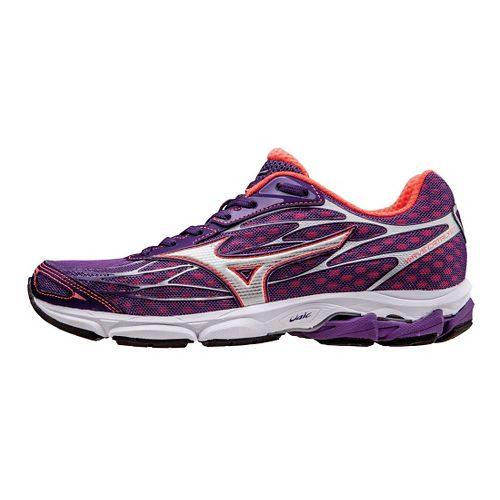 Womens Mizuno Wave Catalyst Running Shoe - Pansy/Pink 9