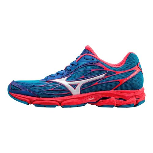 Womens Mizuno Wave Catalyst Running Shoe - Atomic Blue/White 9.5