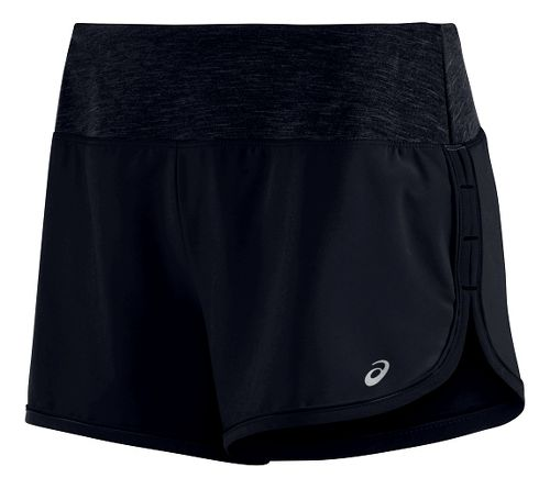 Womens ASICS Everysport Lined Shorts - Black XS