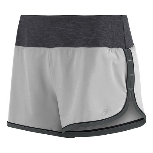 Womens ASICS Everysport Lined Shorts - Grey XS