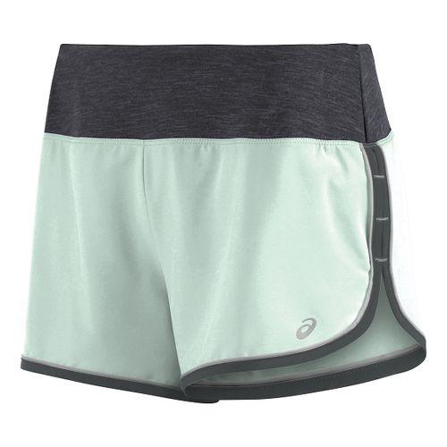 Womens ASICS Everysport Lined Shorts - Mint Green L